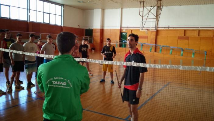 TAFAD en Madrid, Badminton, Pablo Abián