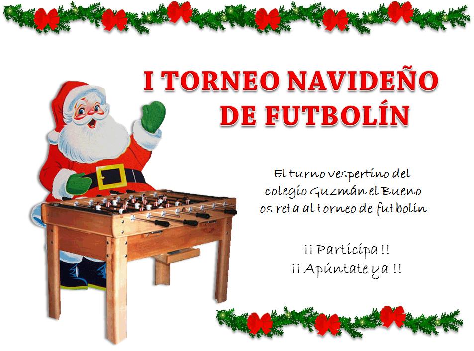 I Torneo Futbolín Navidades