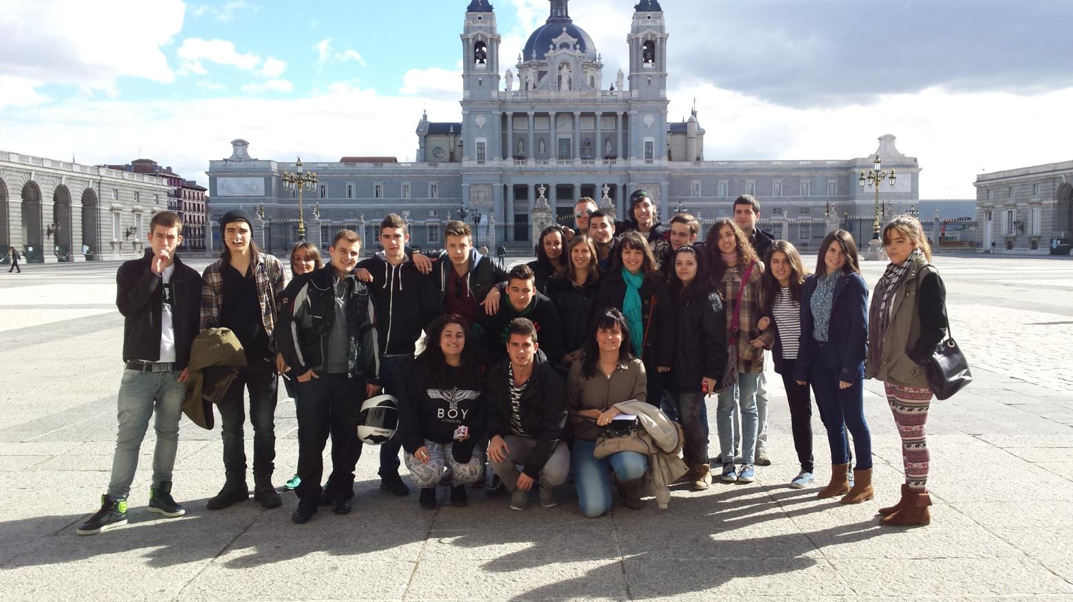 Visita al Palacio Real ESPA y Bachillerato